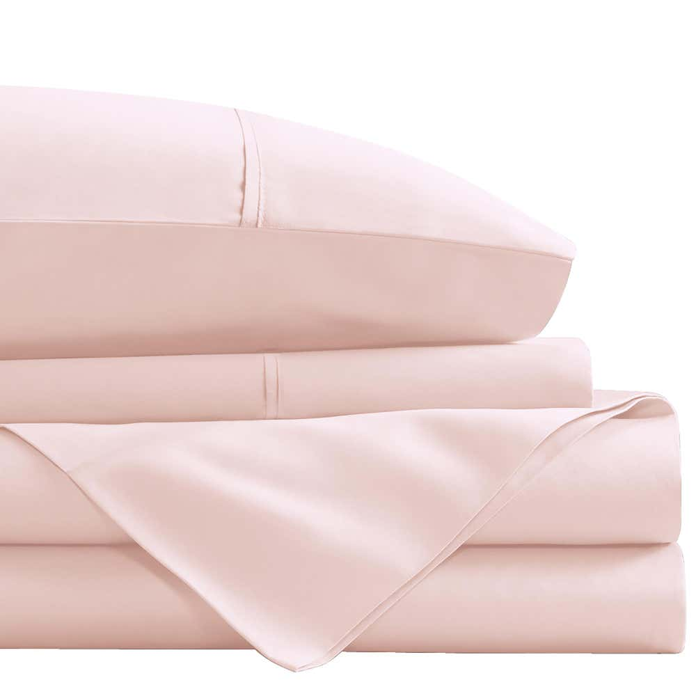 93451_Cathay_Home_1800_Series_100__Microfiber_Queen_Sheet_Set__Rose