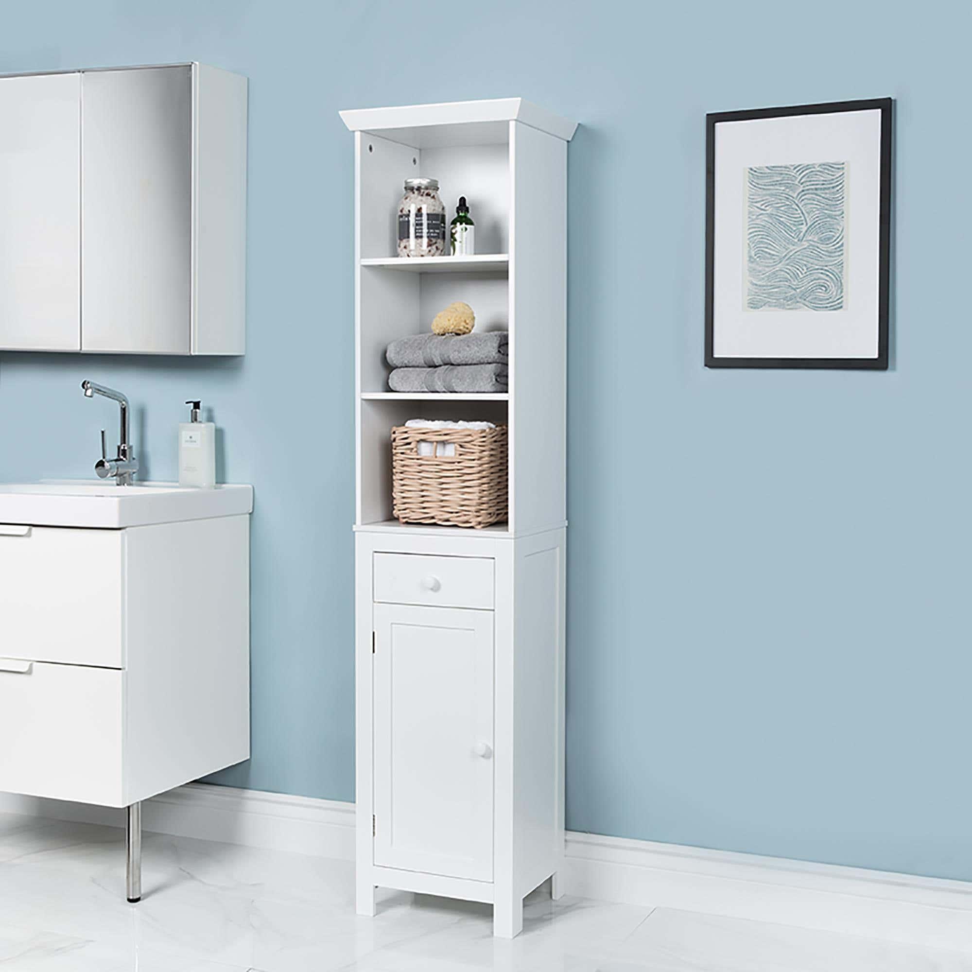 Ksp Tivoli Wood Floor Cabinet White Kitchen Stuff Plus