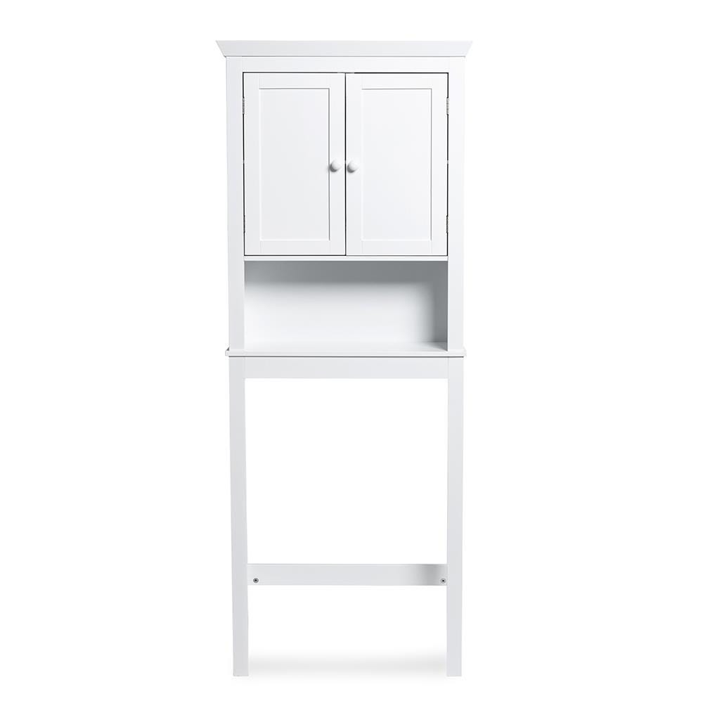 Ksp Tivoli Wood Over The Toilet Cabinet White Kitchen Stuff Plus
