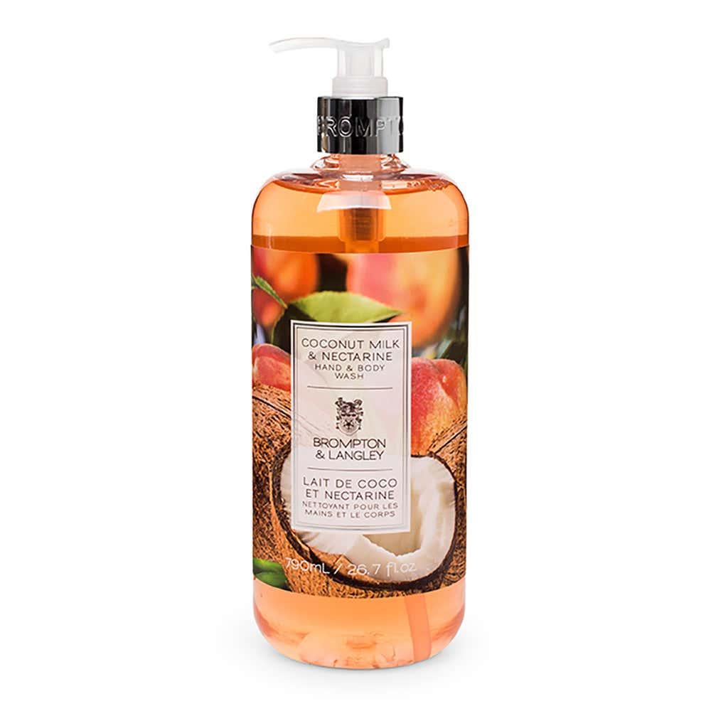 93510_Brompton___Langley_'Coconut_Milk_and_Nectarine'_Body_Wash