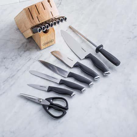 93554_Farberware_Comfort_Grip_Wood_Knife_Block_Set___Set_of_16__Natural