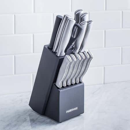 93555_Farberware_15pc_Stainless_Stamped_Wood_Knife_Set__Charcoal