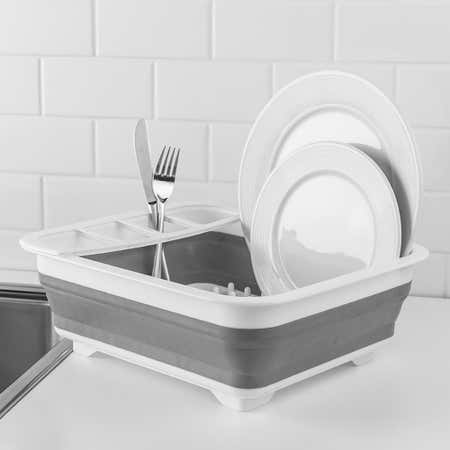 93664_KSP_Tubby_Collapsible_Dish_Rack__White_Grey