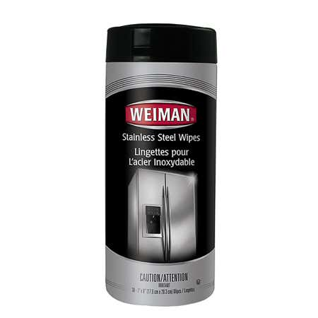 93782_Weiman_Good_Housekeeping_Disposable_Stainless_Steel_Wipes___Set_of_30