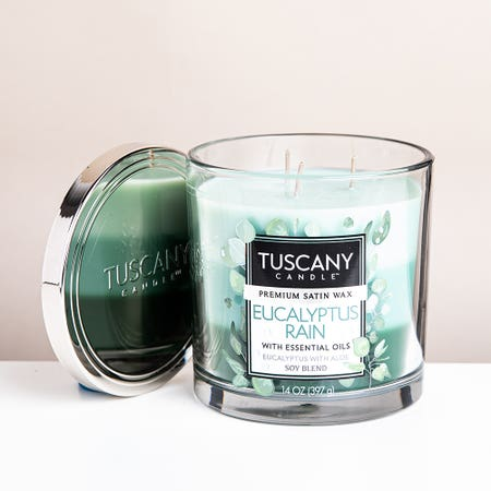 94072_Empire_Tuscany_'Eucalyptus_Rain'_3_Wick_Glass_Jar_Candle