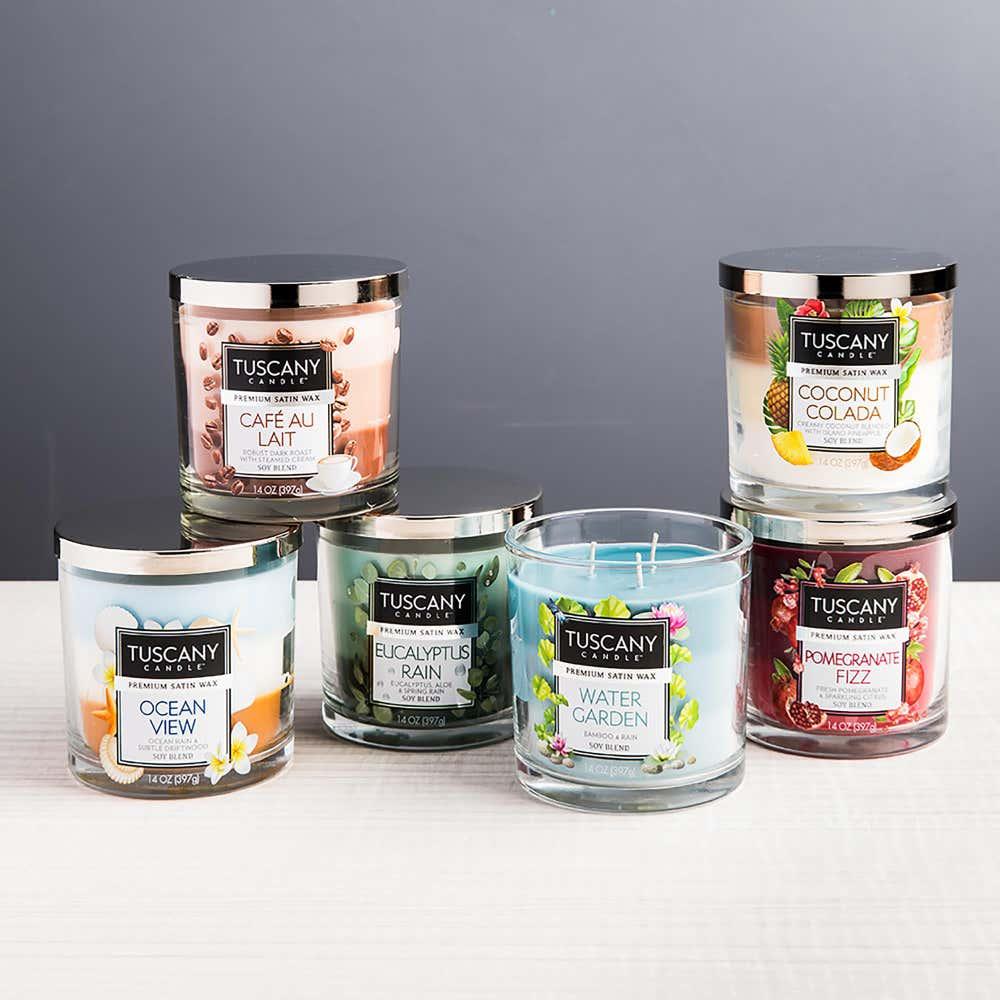94075_Empire_Tuscany_'Pomegranate_Fizz'_3_Wick_Glass_Jar_Candle
