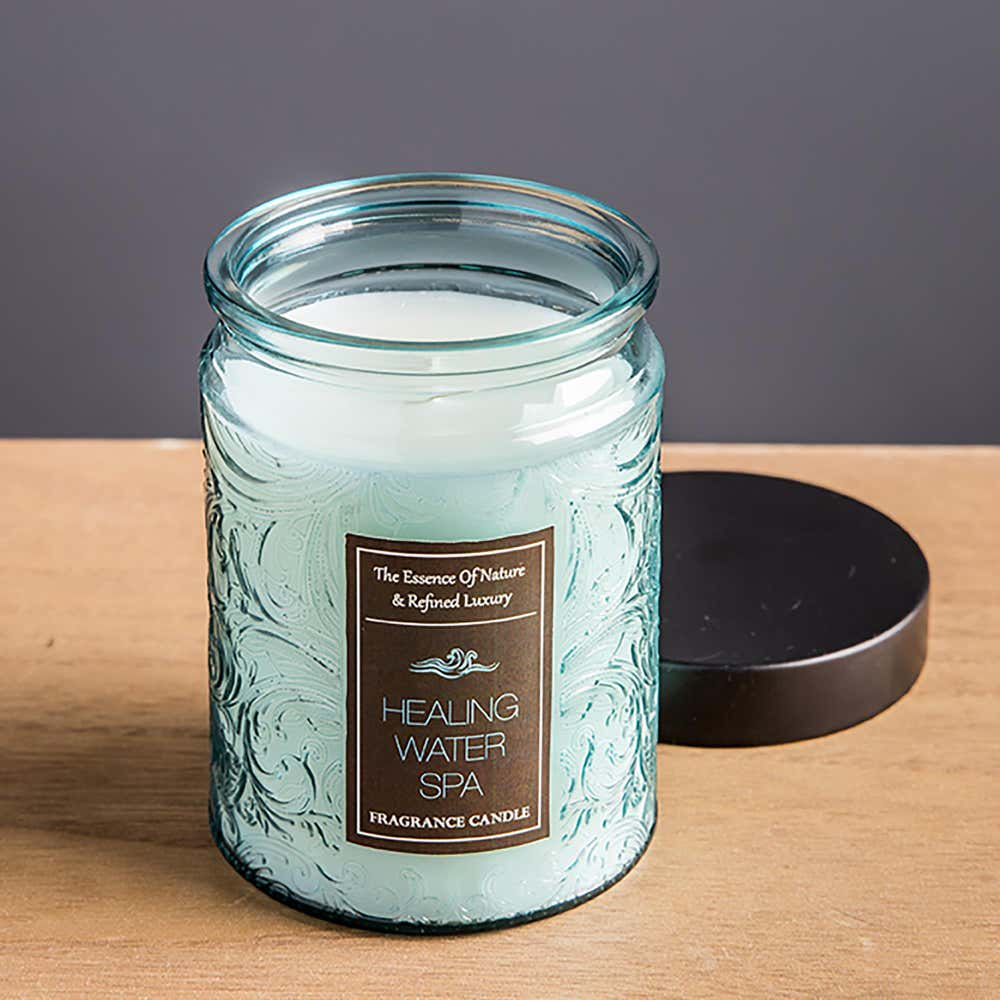 94245_KSP_Essence_'Water_Spa'_Filled_Jar_Candle_with_Metal_Lid__Blue