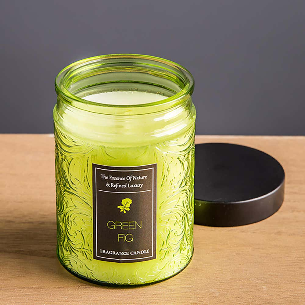 94249_KSP_Essence_'Green_Fig'_Filled_Jar_Candle_with_Metal_Lid__Green