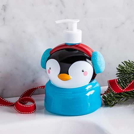 94293_Tri_Coastal_Designs_Molded_Head_'Penguin'_Hand_Soap