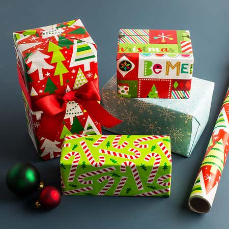 94333_Expressive_Design_Group_Christmas_'Whimsical'_Wrapping_Paper__Asstd_