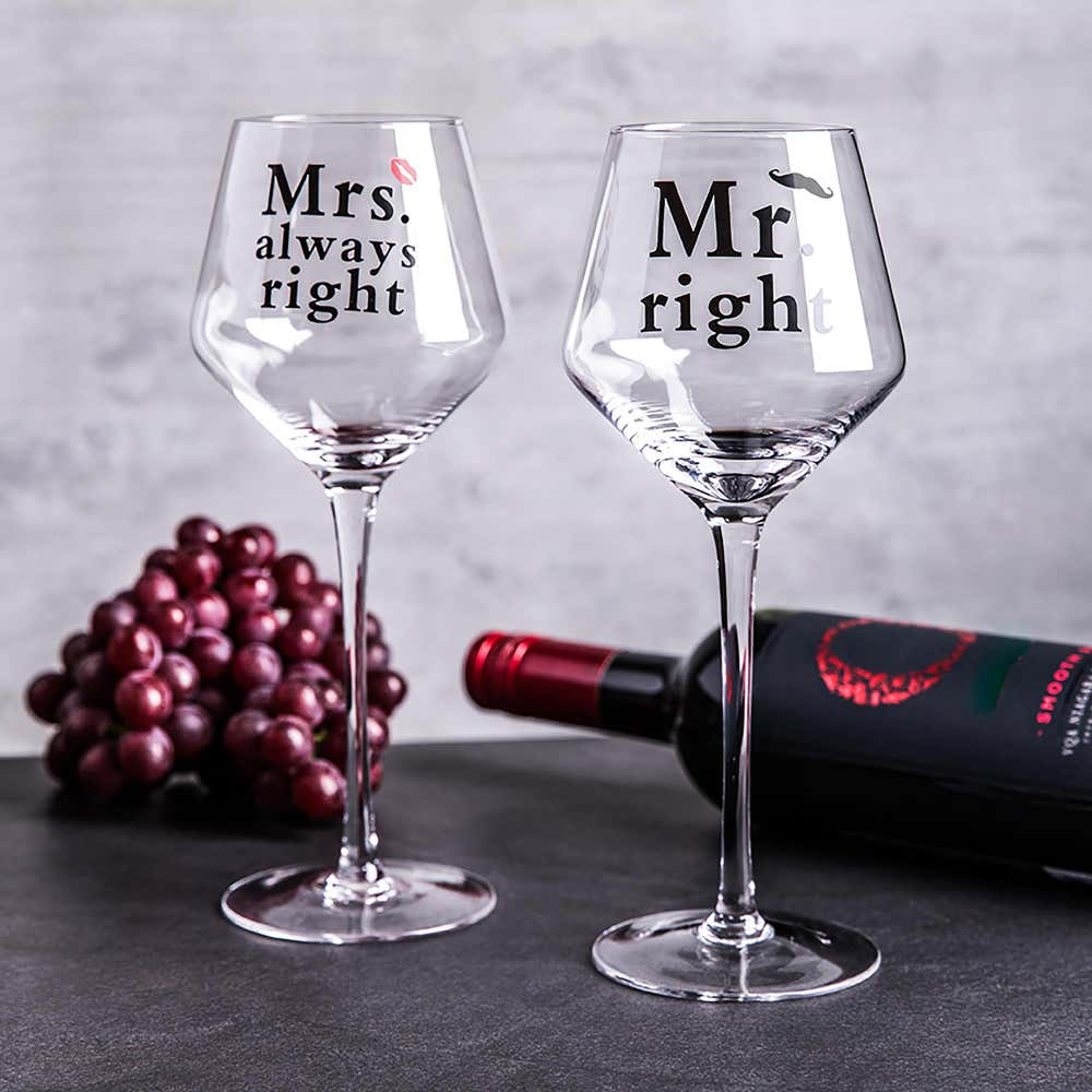 94562_KSP_Lovers_'Mr__and__Mrs'_Wine_Glass___Set_of_2__Clear