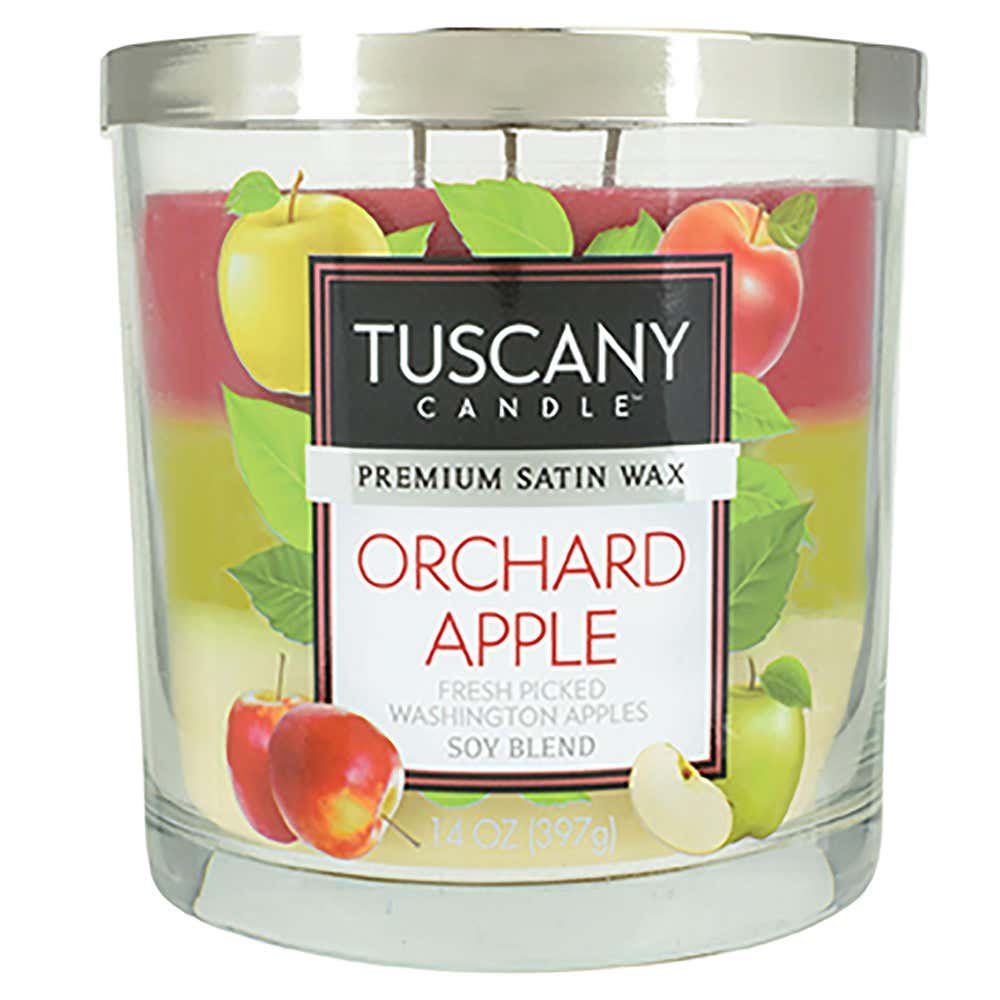 94670_Empire_Tuscany_'Orchard_Apple'_3_Wick_Glass_Jar_Candle