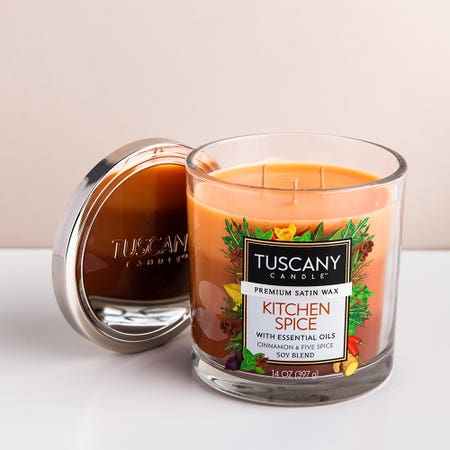 94671_Empire_Tuscany_'Kitchen_Spice'_3_Wick_Glass_Jar_Candle