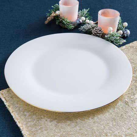 94778_KSP_Opal_'Banded'_Glass_Dinner_Plate__White_Gold