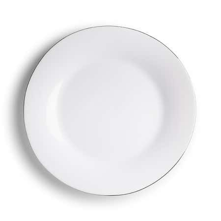 94779_KSP_Opal_'Banded'_Glass_Dinner_Plate__White_Silver