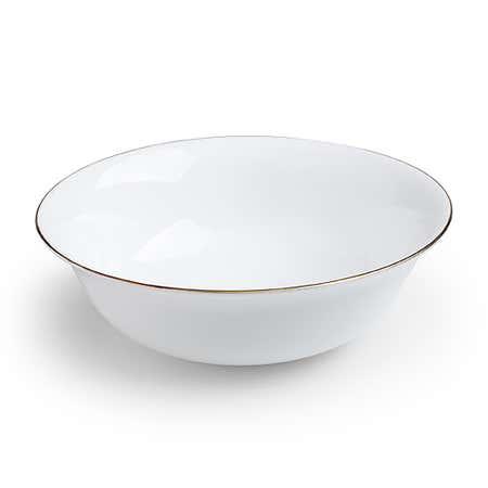 94784_KSP_Opal_'Banded'_Glass_Bowl__White_Gold