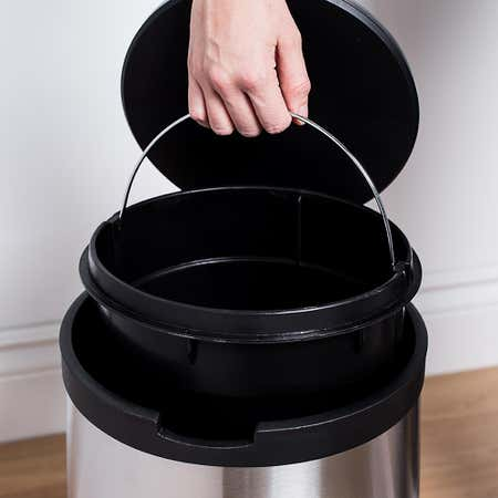 94796_KSP_Orca_12L_Round_Step_Garbage_Can__Black_Stainless_Steel