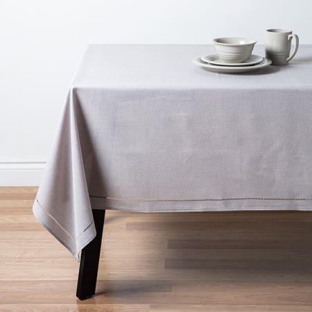 94835_Harman_Hemstitch_Polyester_52__x_70__Tablecloth__Light_Grey
