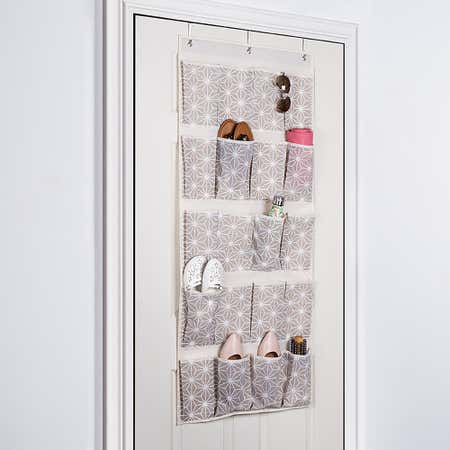 95007_KSP_Axis_'20_Pocket'_Over_The_Door_Shoe_Organizer__Grey