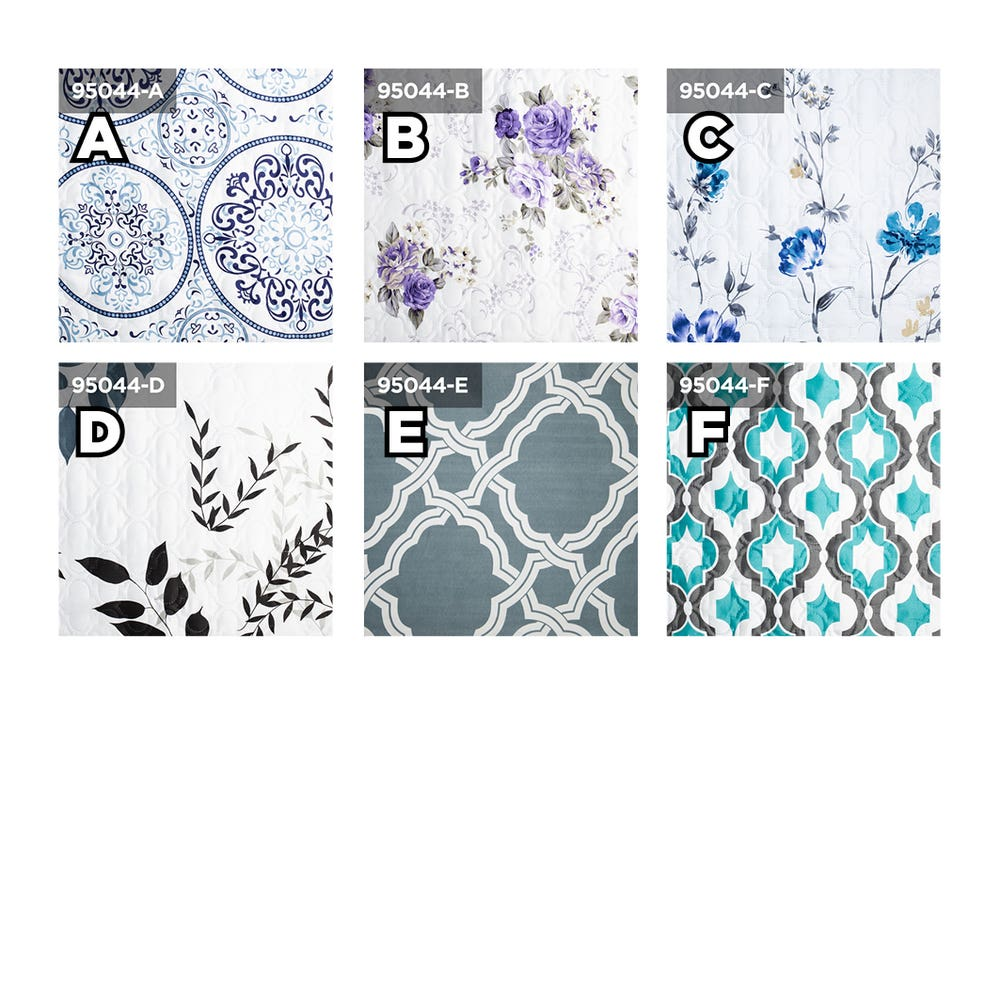 Home Aesthetics Printed Quilt Cover B (King) - Set of 3
