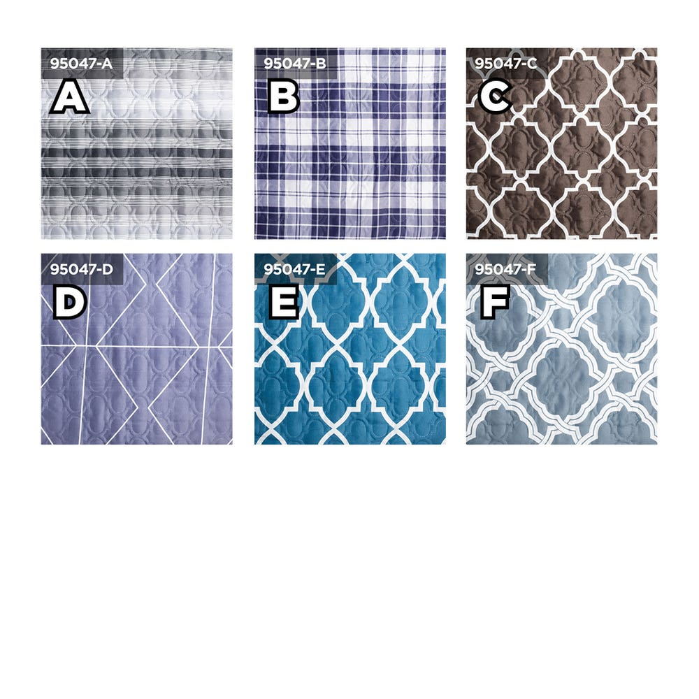 Home Aesthetics Printed Quilt Cover Asstd. Queen - Set of 3