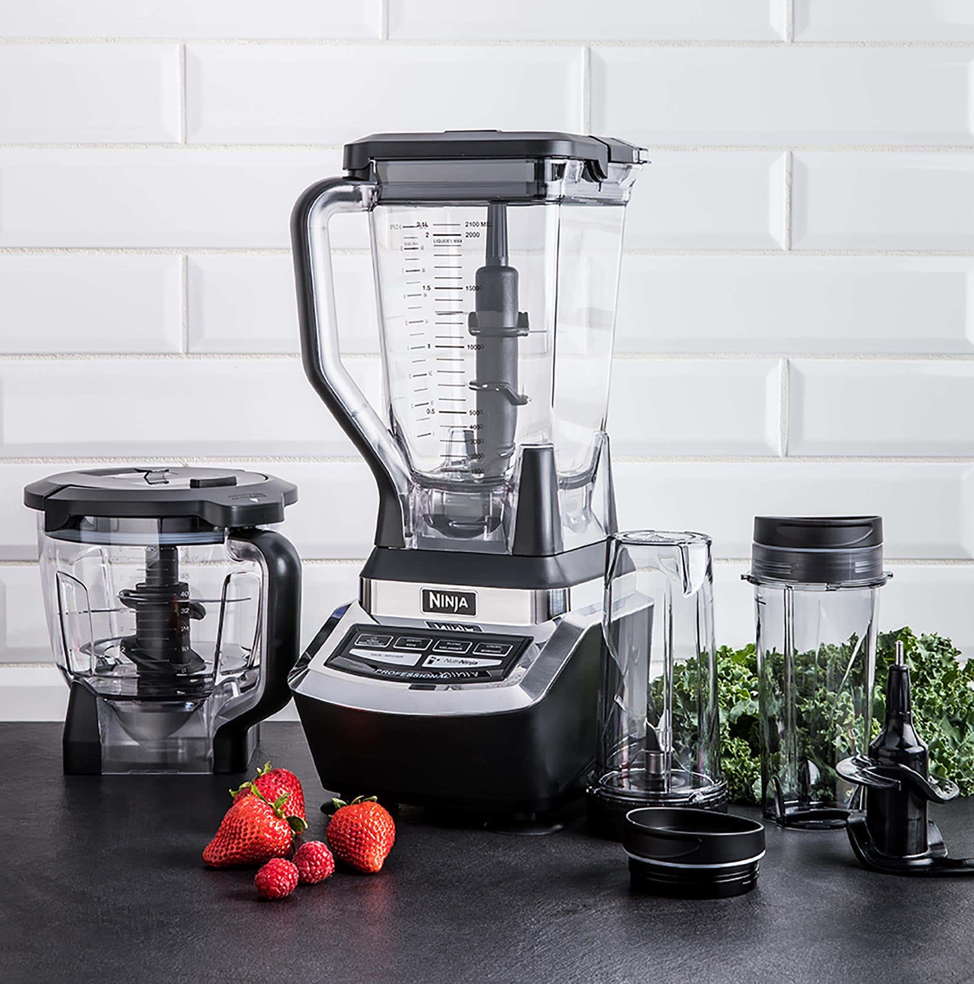 Ninja Supra Professional Blender System Black Silver Kitchen Stuff Plus