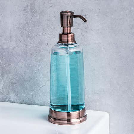 95109_KSP_Ashbury_Acrylic_Soap_Pump__Copper