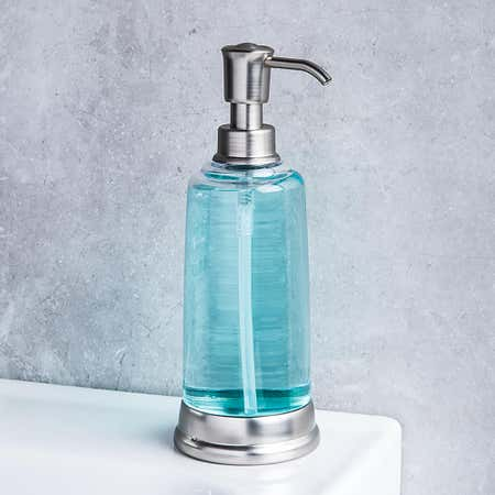 95110_KSP_Ashbury_Acrylic_Soap_Pump__Nickel