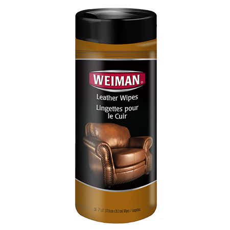 95155_Weiman_Good_Housekeeping_Leather_Wipes___Set_of_30