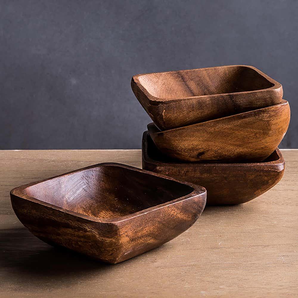 95162_Home_Essentials_Acacia_'Square'_Bowl___Set_of_4__Brown