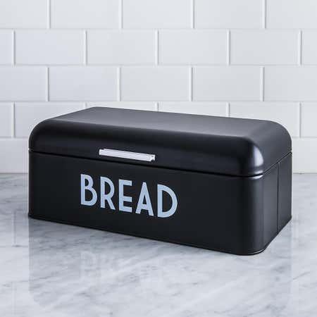 95215_Home_Basics_Metal_Bread_Bin__Black
