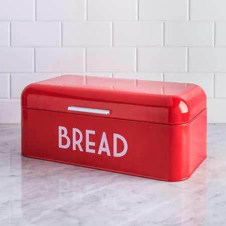 95217_Home_Basics_Metal_Bread_Bin__Red