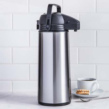 95244_KSP_Hilton_Insulated_Thermal_Pump_Carafe__Black_Stainless_Steel