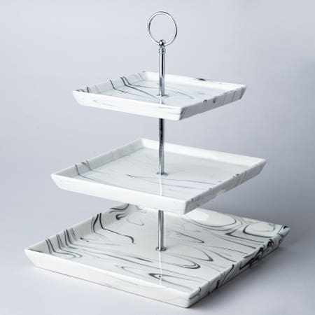 95252_KSP_Marble_Porcelain_Buffet_Stand_3_Tier__White_Grey