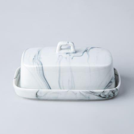 95253_KSP_Marble_Porcelain_Butter_Dish__White_Grey