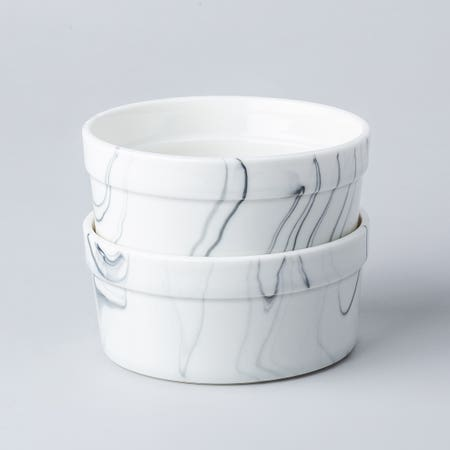 95254_KSP_Marble_Porcelain_Ramekin___Set_of_4__White_Grey