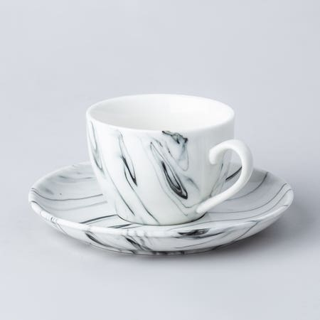 95257_KSP_Marble_Porcelain_Tea_Cup_with_Saucer__White_Grey