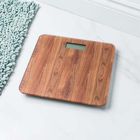 95289_KSP_Verra_Glass_'Wood_Grain'_Digital_Bathroom_Scale__Natural