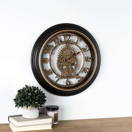 95379_Kiera_Grace_Gears_Wall_Clock__Bronze