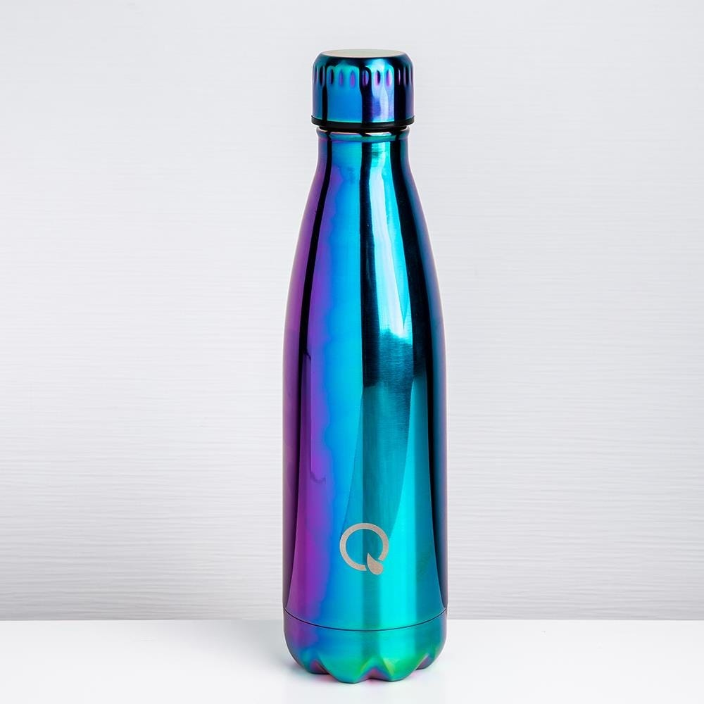 95410_KSP_Quench_'Mermaid'_St_St_Double_Wall_Water_Bottle__Blue