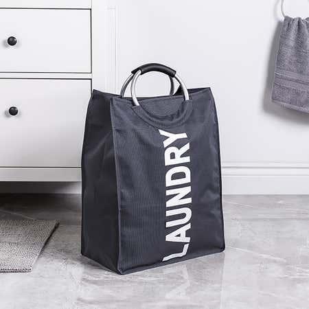 95414_KSP_Softsac_Laundry_Hamper_with_Handle__Grey