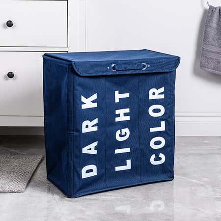 95419_KSP_Index_'Triple'_Laundry_Hamper_Sorter__Blue