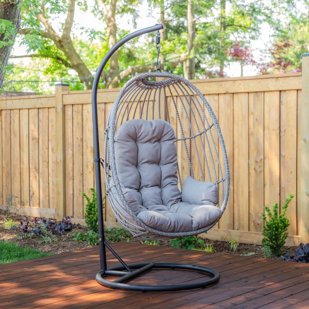 KSP Bali Steel Hanging Chair (Grey)