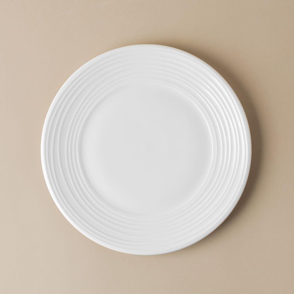 KSP A La Carte 'Rings' Porcelain Side Plate (White)