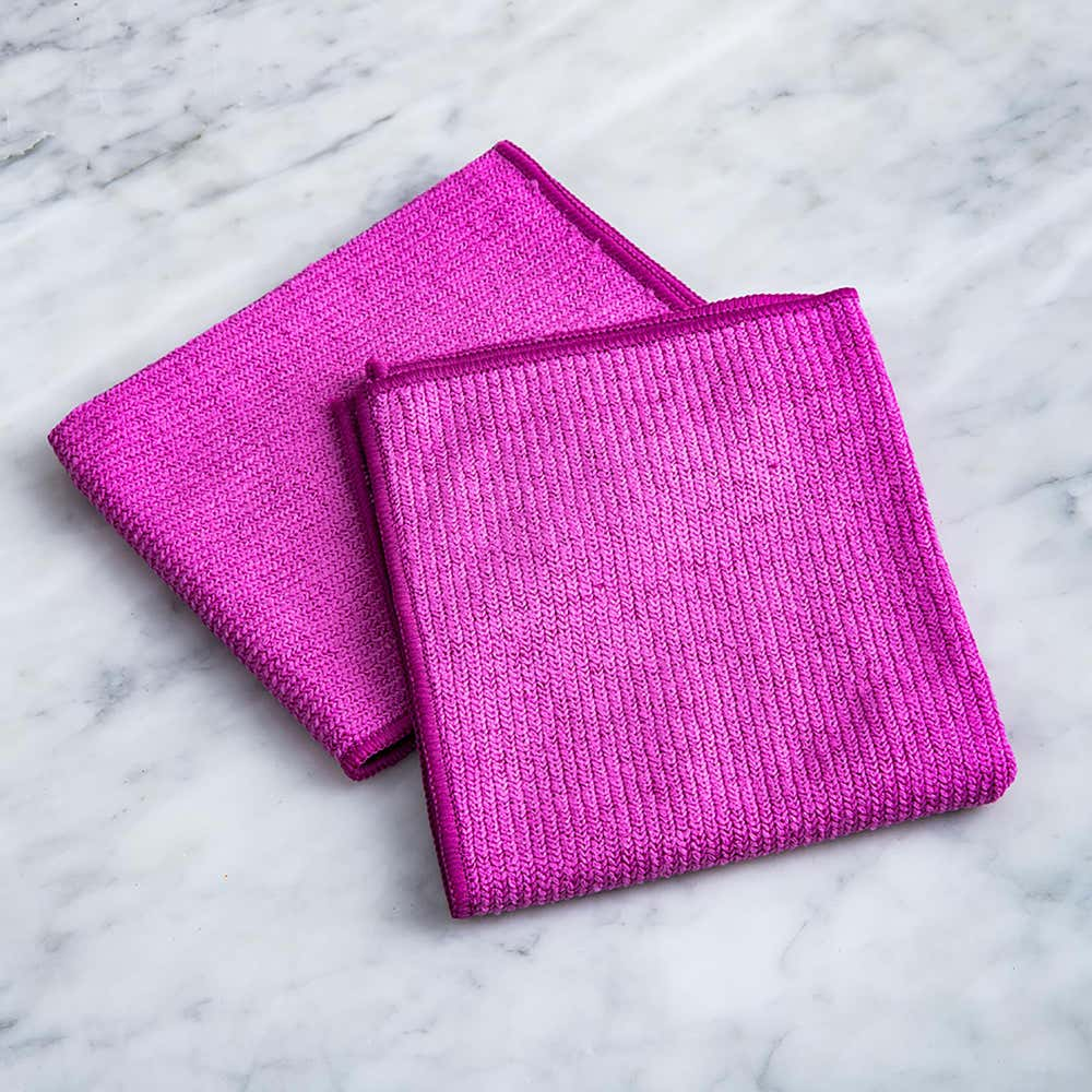 95766_Casabella_Microfiber_All_Purpose_Cloth___Set_of_2__Pink