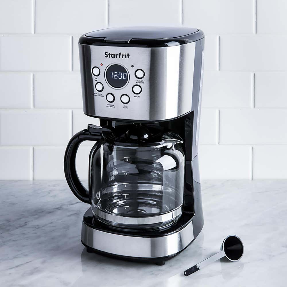 95824_Starfrit_Breakfast_Collection_Programmable_12__Cup_Coffee_Maker