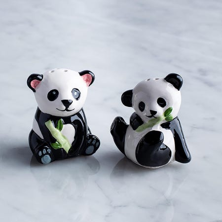 95874_Boston_Warehouse_Flea_Market_'Panda'_Salt_and_Pepper_Shaker