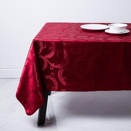 95931_Sebastien___Groome_Laurel_Brocade_60__x_120__Tablecloth__Red