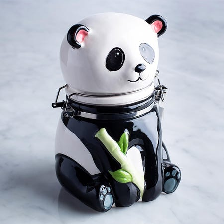96017_Boston_Warehouse_Flea_Market_'Panda'_Ceramic_Jar