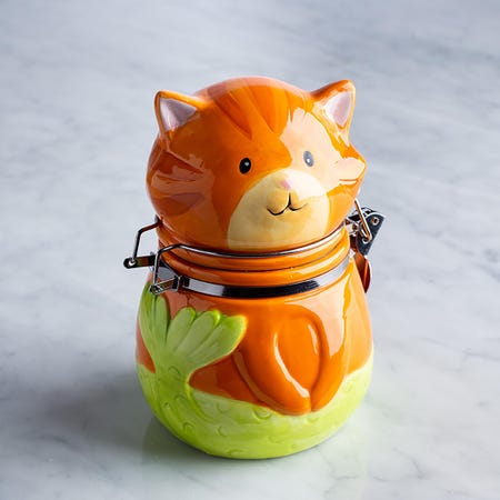 96031_Boston_Warehouse_Flea_Market_'Tiger_Pur_Maid'_Ceramic_Jar